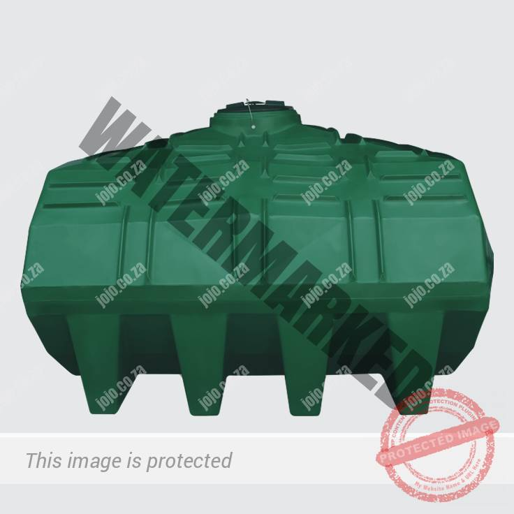 5 000 Litre Horizontal Water Storage Tank - Crocodile