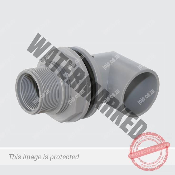 Male/Female Tank Connector with Elbow Long Series (50/40mm)