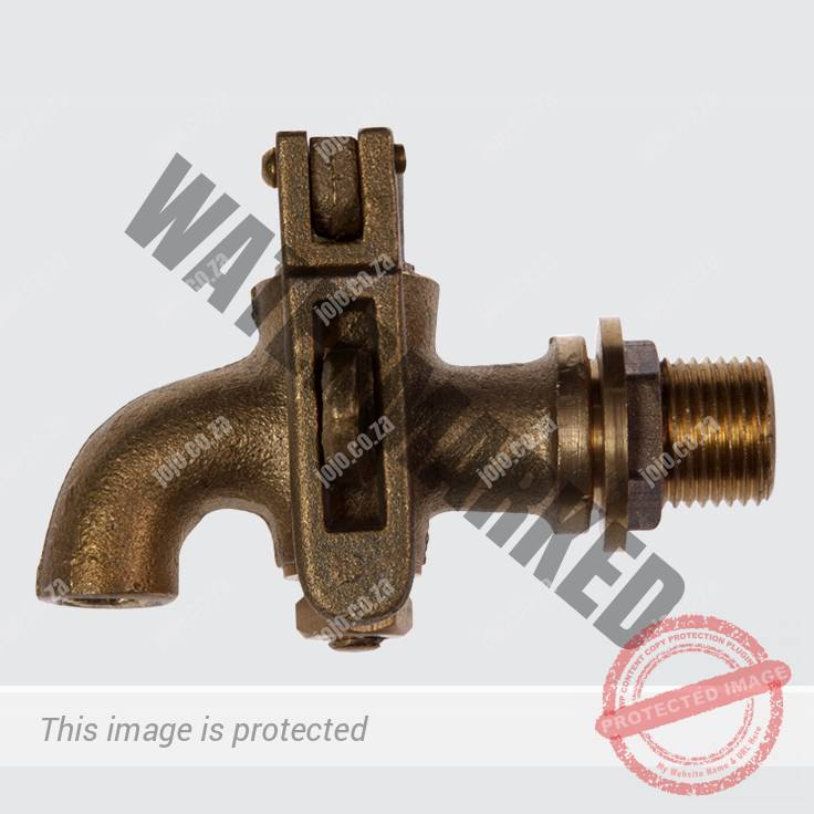 Solid Brass Lockable Tap (20mm)