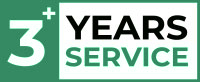 3+ Years Service