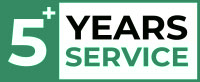 5+ Years Service